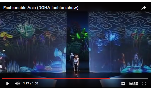 From the Archives: Fashionable Asia (DOHA Fashion Show) 2006