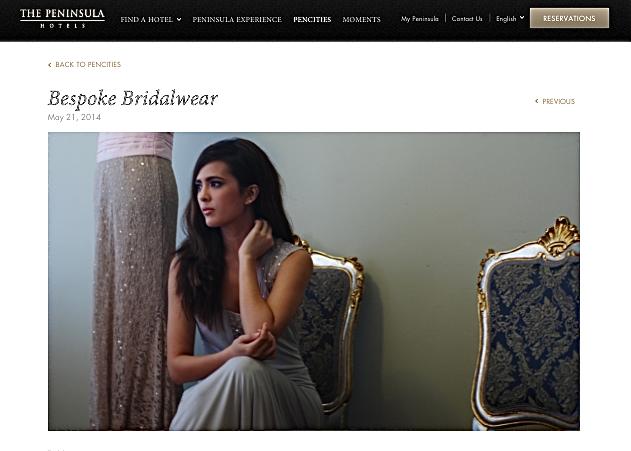 "My ""Bespoke Bridalwear"" on PenCities"