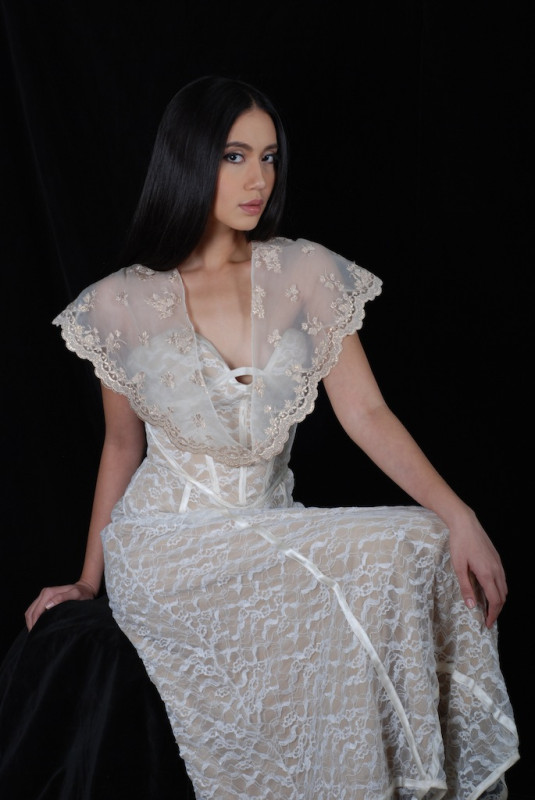 Modern Filipino Dress