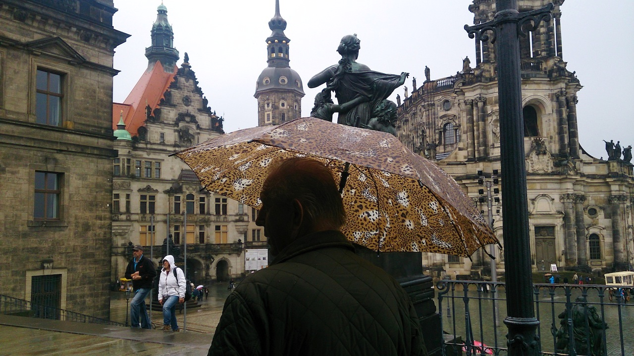 Drizzly Day in Dresden